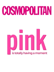 Cosmpolitan | Pink is Totally Having a Moment